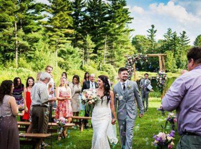 Wedding events at Sterling Ridge Resort