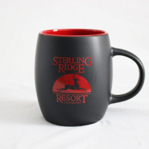 Sterling Ridge Resort Coffee Mug (Red & Black)