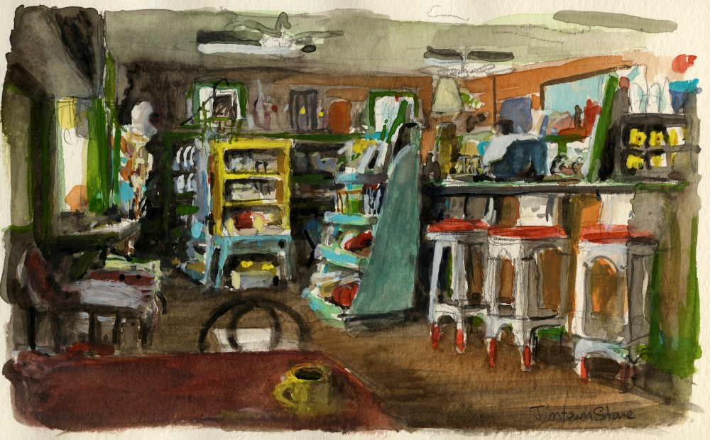 Alexander valley jimtown store painting