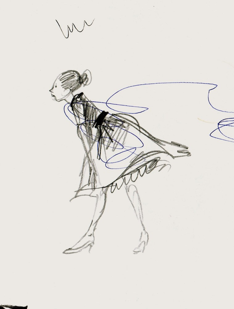 girl in motion