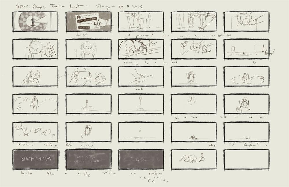 jet pack storyboard
