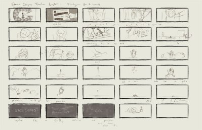 jet pack storyboard