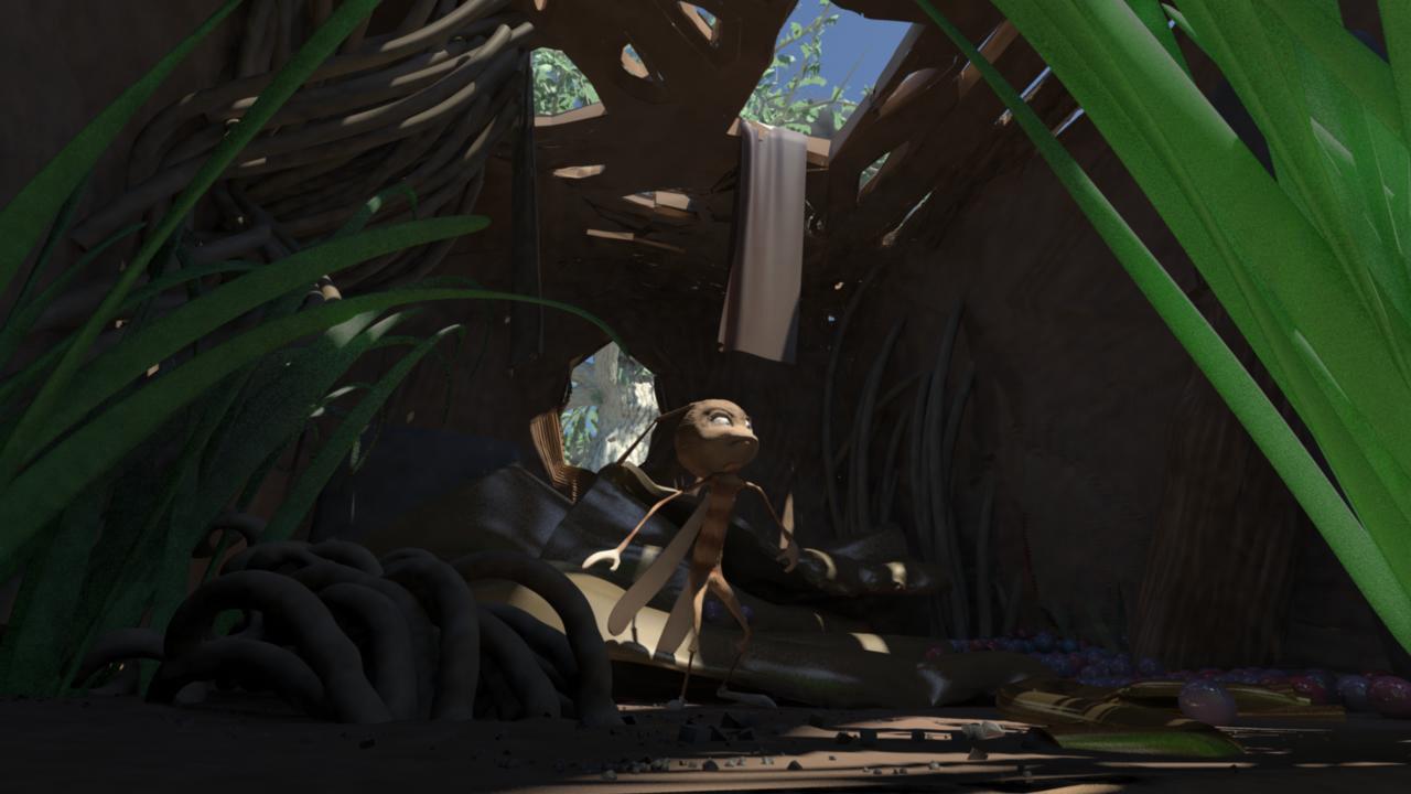 Maya render of flyboy