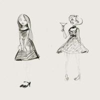loose girl drawings