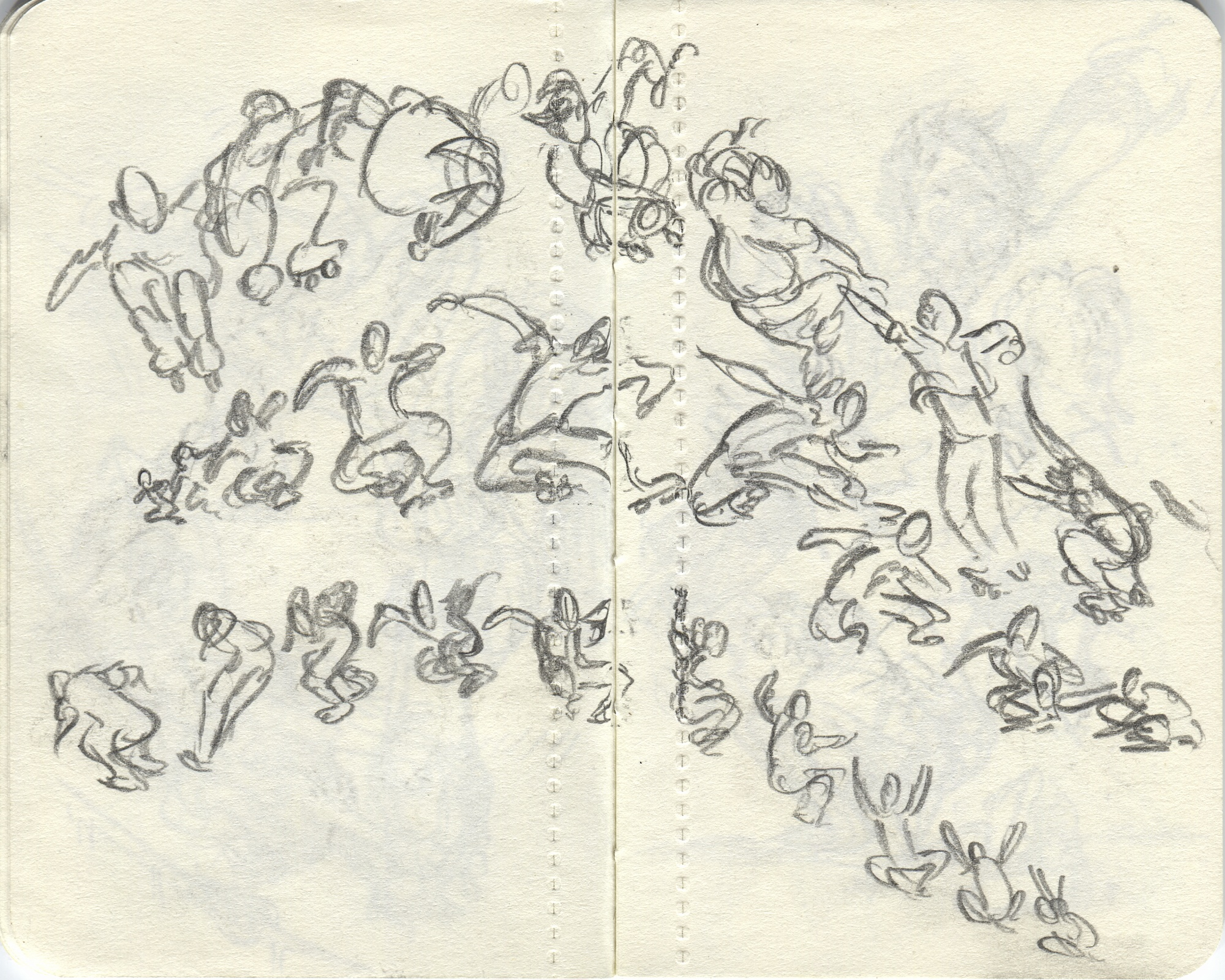 jumping motion sketch