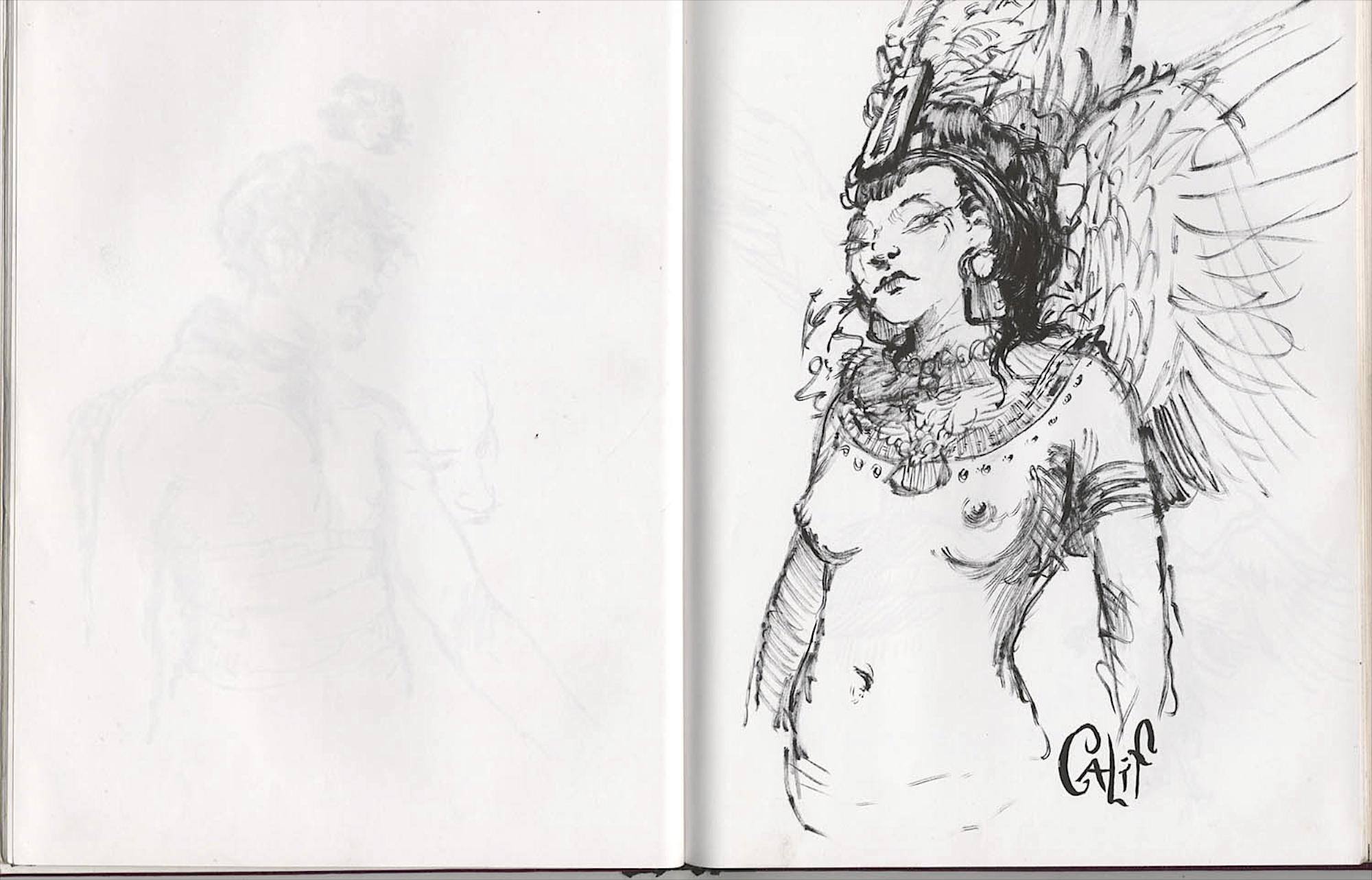 amazon queen Kalifia