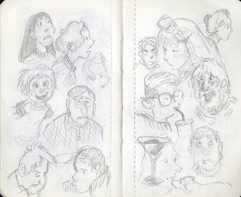 coffee break doodles