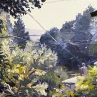 San Anselmo landscape painting