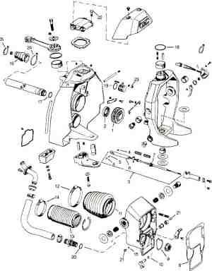 1987 mercruiser 57 outdrive diagram