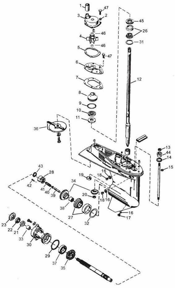 mercury outboard remote control
