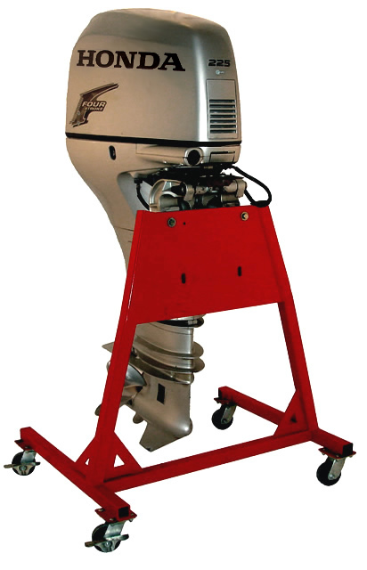 large outboard service stand