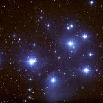 Plejaden Siebengestirn M45