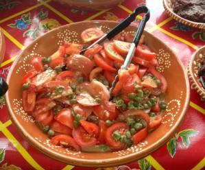 Tomaten salade