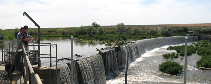 reservoir, river operations