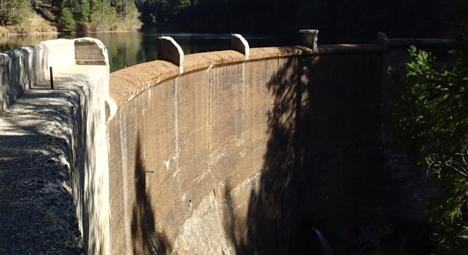 lower scott's flat dam