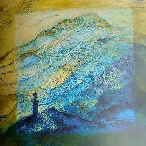 Lighthouse, Jocelyn Merivale artist