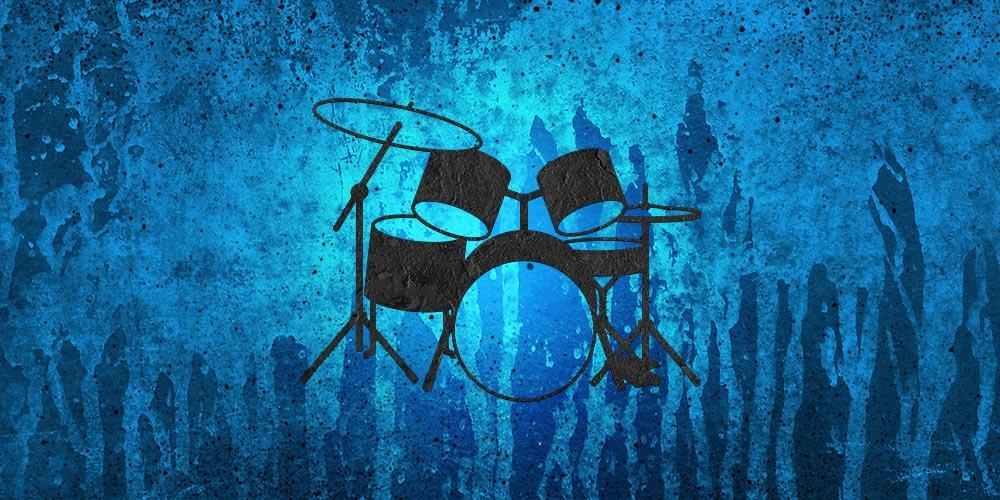 Drum Set - blue