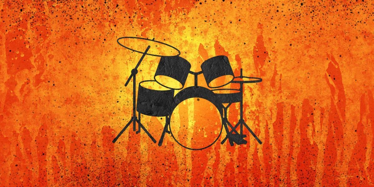 Drum Set - orange