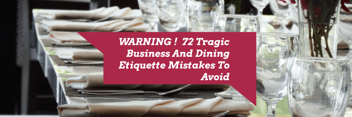 Business-and-Dining Etiquette