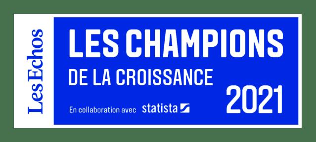Steve intègre le palmarès des champions de la croissance 2021 par Les Échos x Statista