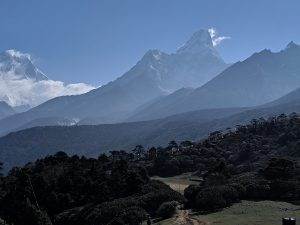 Views from Tengboche
