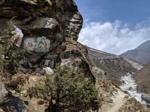 Paintings along the trail