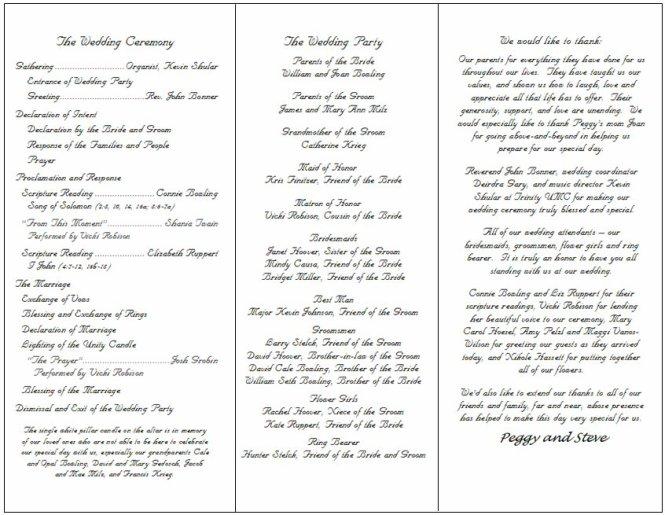 Doc585452 Wedding Ceremony Template Free Wedding Ceremony – Wedding Ceremony Template Free