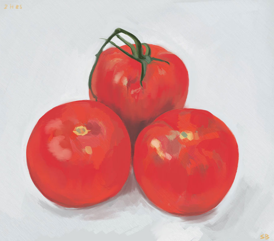 tomato-study-digital-painting-steve-beadle-art