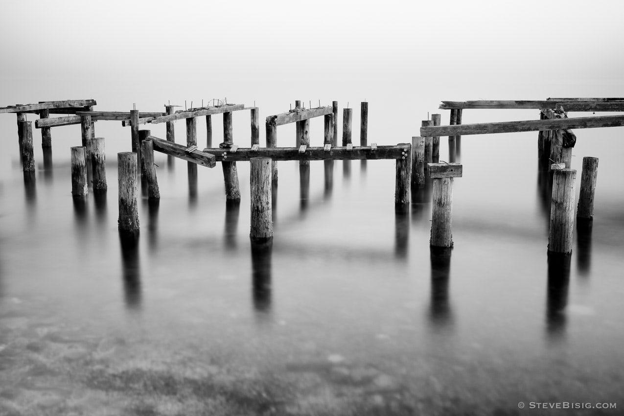 Remains of an Old Dock, Cummings Park, Tacoma, Washington, 2014