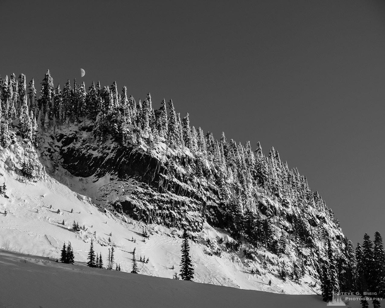 Winter, Inspiration Point, Mount Rainier, Washington, 2017