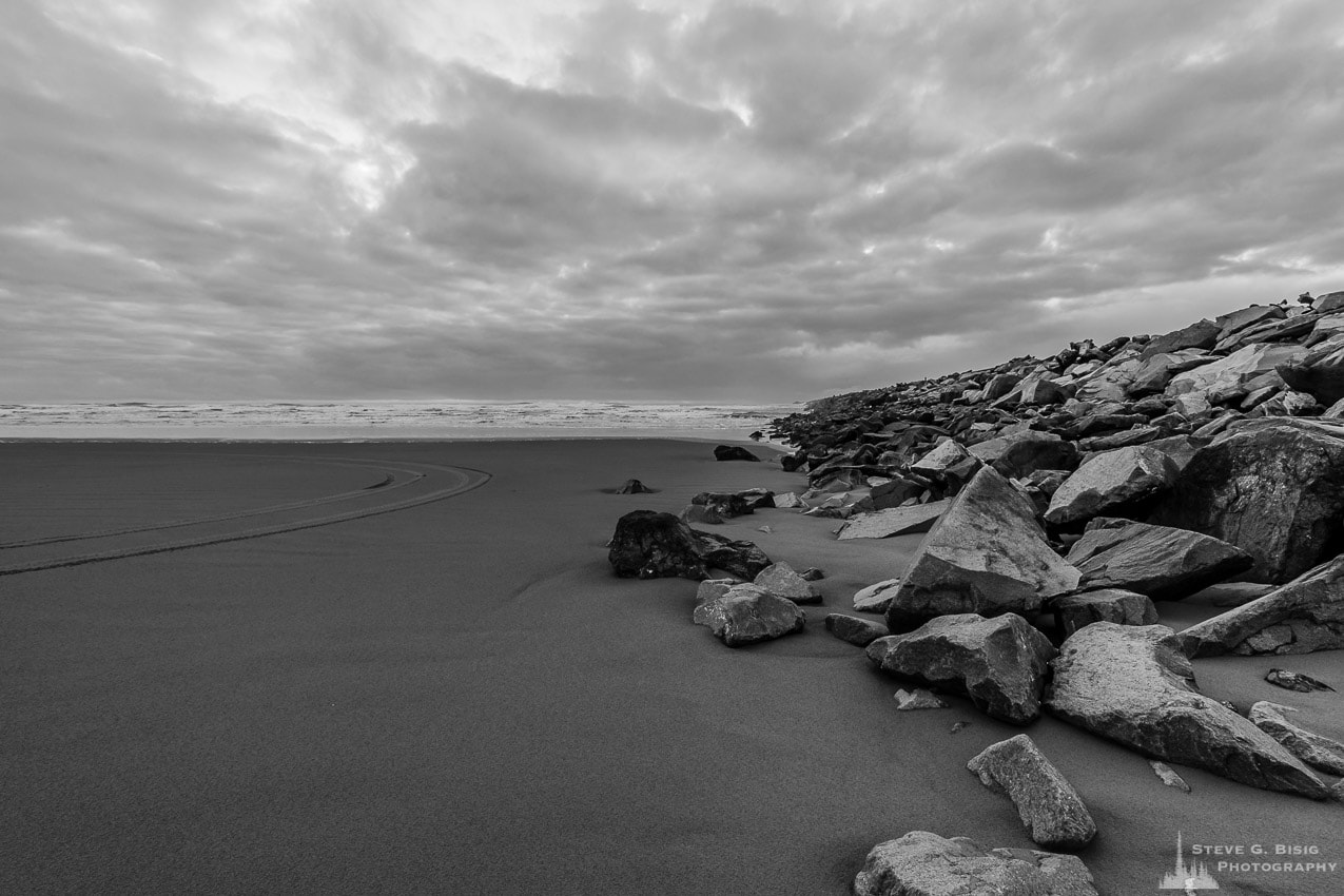 South Jetty, Westhaven State Park, Washington, Winter 2017