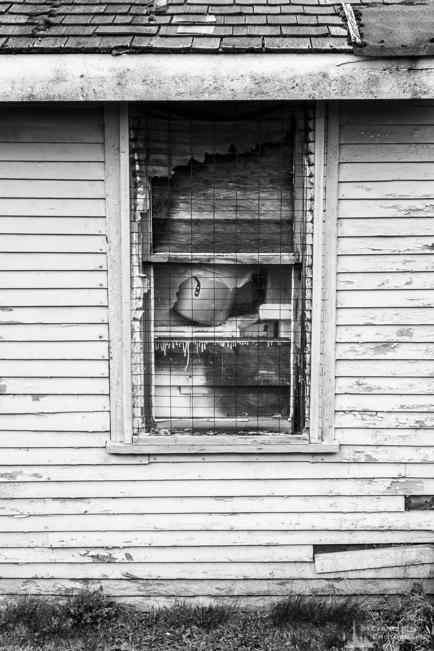 Window of an Abandoned House, Oak Harbor, Washington, Spring 2017