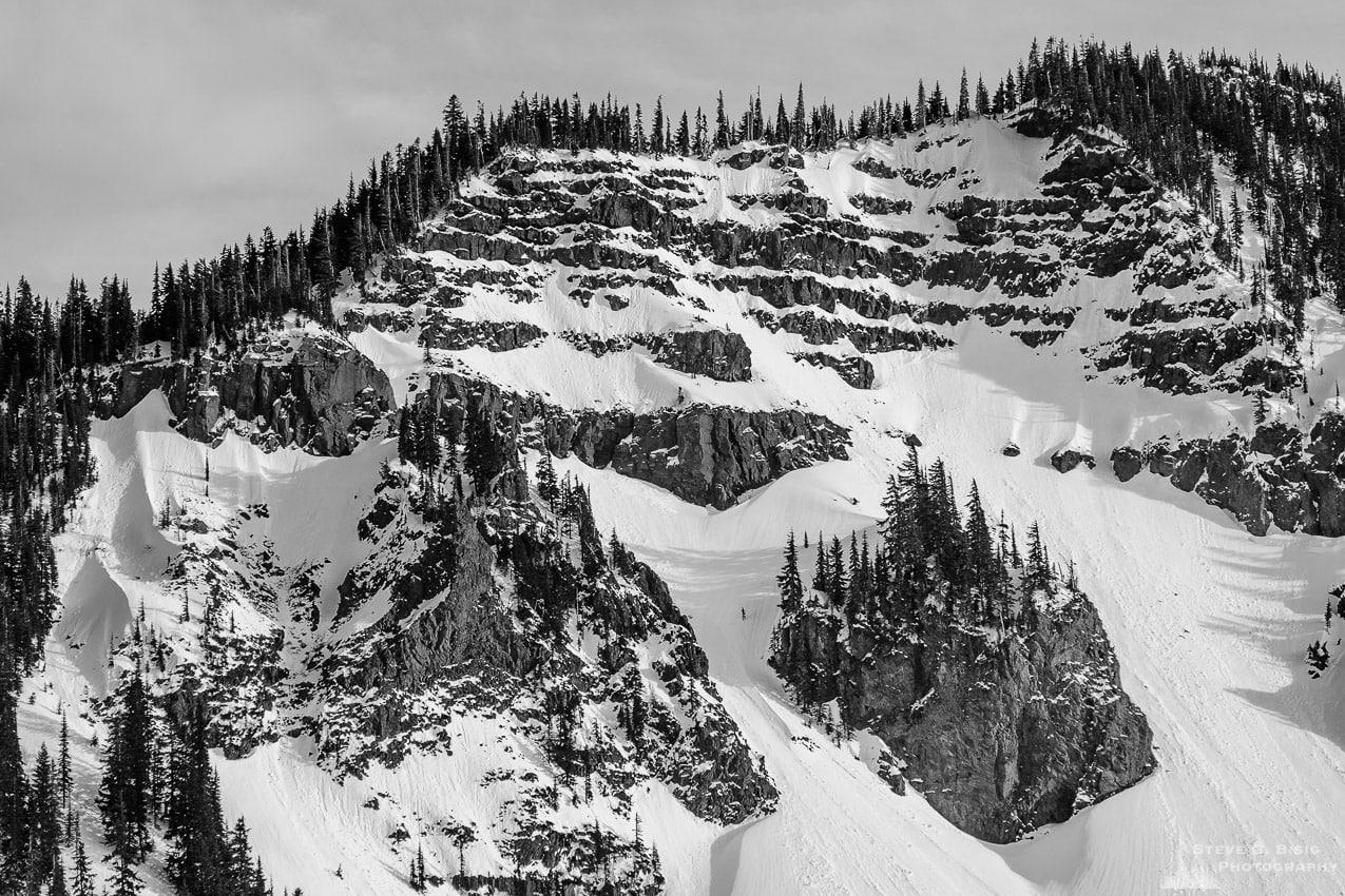Spring Snow, Hogback Mountain, Washington, 2017