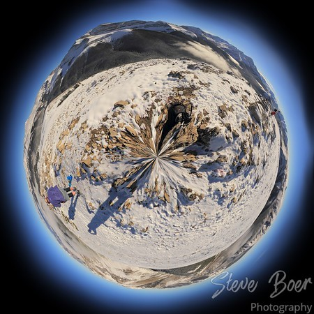 Sulphur Skyline Summit Tiny Planet