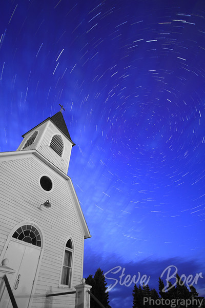 Church Star Trail