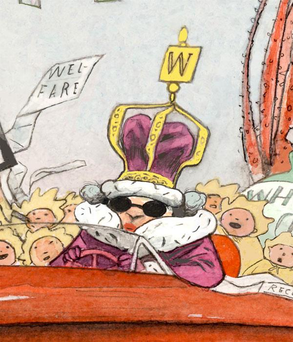 Welfare Queen Head