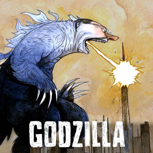 Godzilla 600