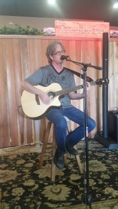 Performing at the Acoustic Den, Roseville, CA