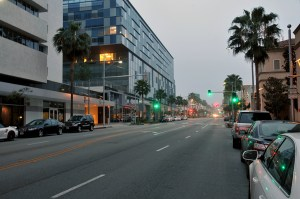 Beverly_Drive_Looking_North_From_Wilshire_2015