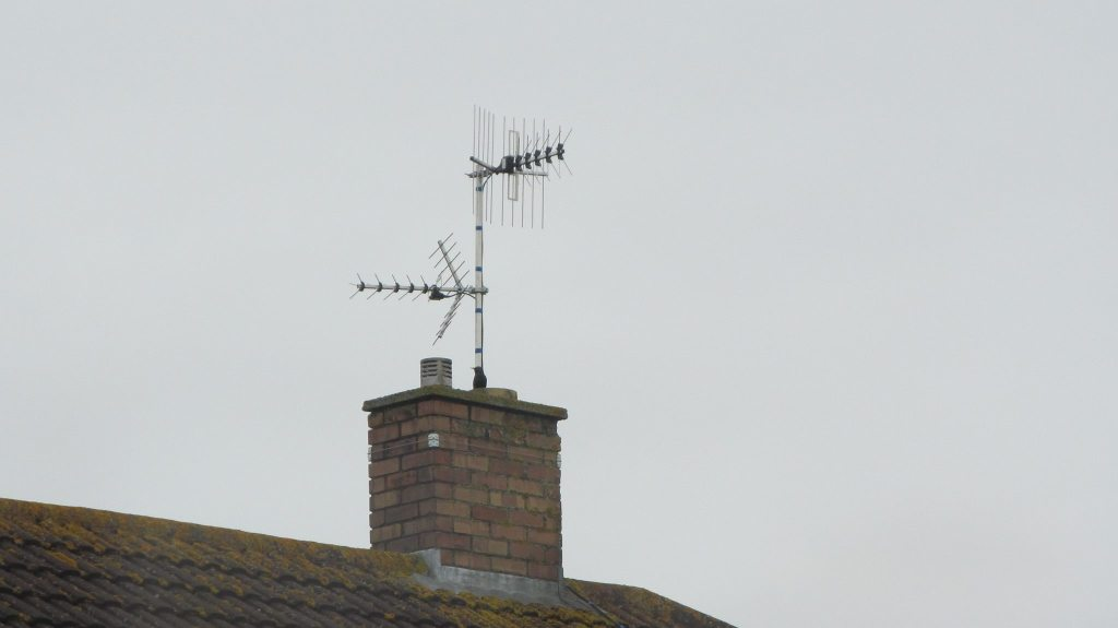 Aerial installation in Williton