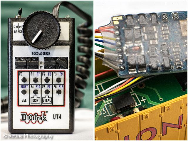 Model Train Electronic Controller