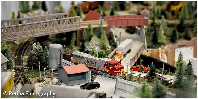 Model Train Layout Detail View 06