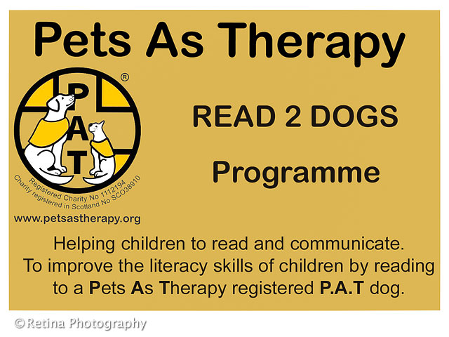 Pets As Therapy Read Two Dogs Programme