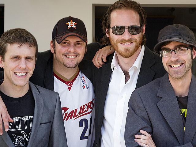 Stuart Dickinsons Famous Five Podcast Crew Group Shot