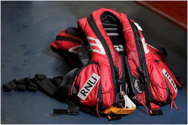 Wet Red RNLI Lifejacket