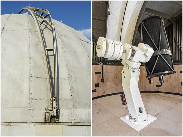 Hampshire Astronomical Group New 24 Inch Telescope Seven 7 Inch Dome White Black