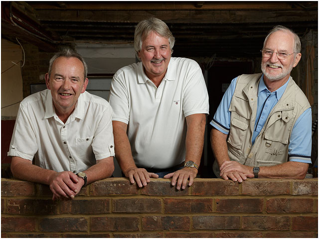 Fox And Hounds Denmead Public House Community Ownership Cooperative Male Portraits