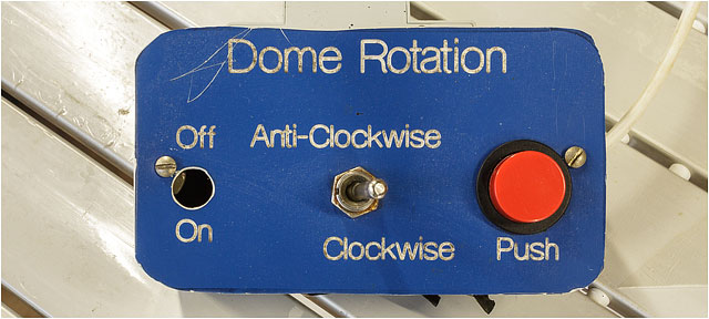 Hampshire Astronomical Group Homemade Telescope Dome Rotation Control Unit