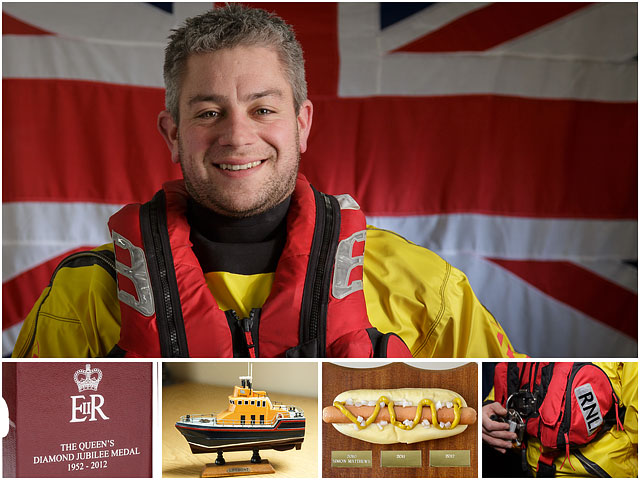 Weekend Passions Editorial Montage of Portsmouth RNLI Volunteer