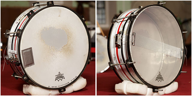 Batala Portsmouth Caixa Drum Front Back